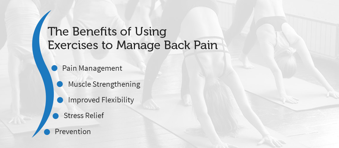 The Benefits of Using Exercises to Manage Back Pain