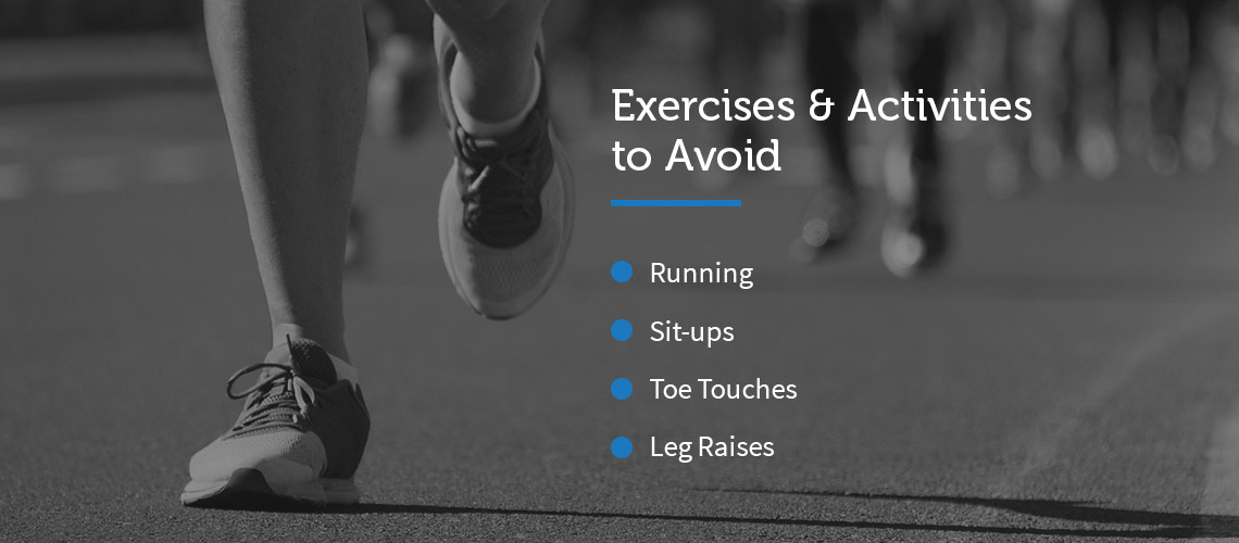 Exercises & Activities to Avoid with Back Pain